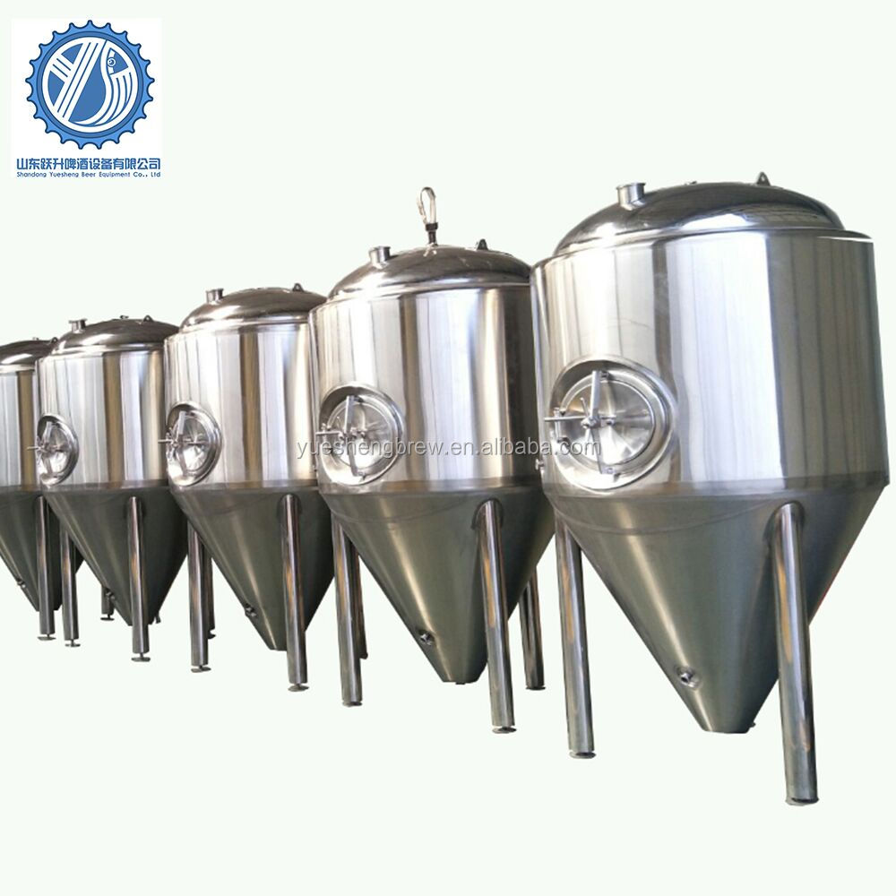 100L 200L 500L 1000L 2000L 5000L stainless steel beer conical fermenter