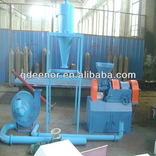 XMF-420 Model Scrap Tire Pulverizer / Rubber Grinding Mill