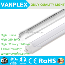 Whole Sales CE and RoHS Approved T8 LED Tube lighting 18w 4ft 1200mm sex 8 led tube