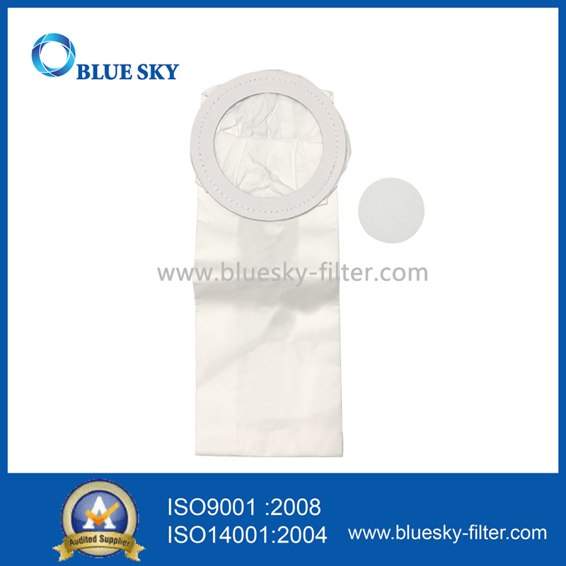HEPA Filter Dust Bag for CleanMax Pro-Series, Tennant V-SMU-14 Tornado CK 14/1, Riccar 4000 & 2000 Series Vacuum Cleaner