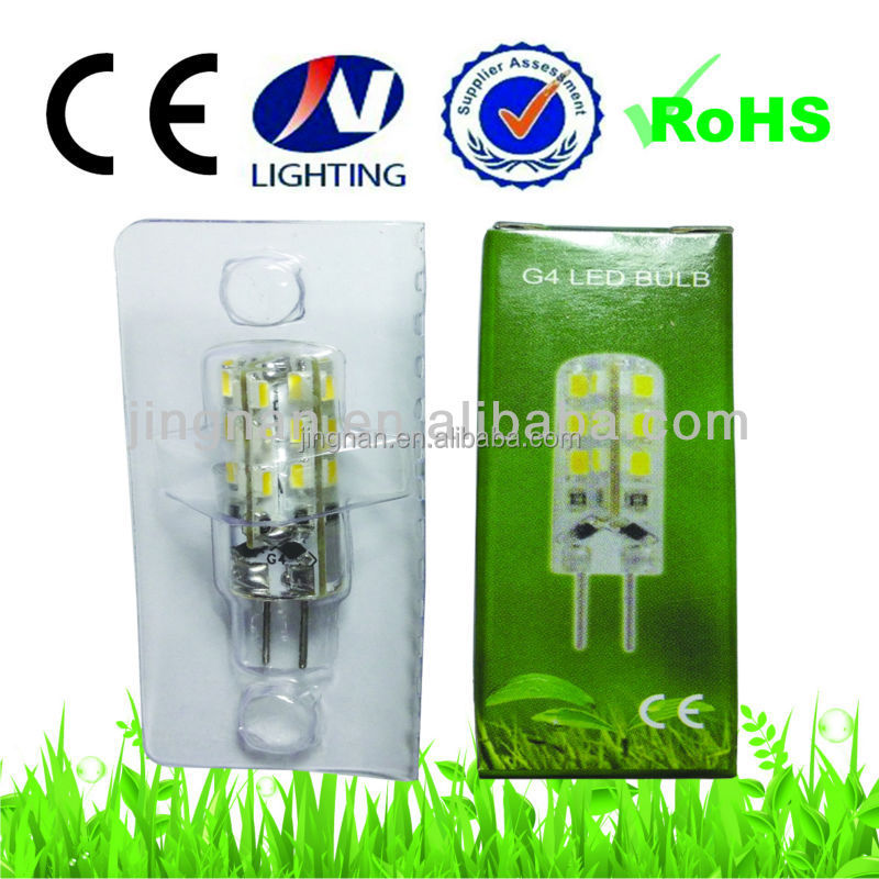 led down light AC12V G4 LED Light Bulb 1.5W