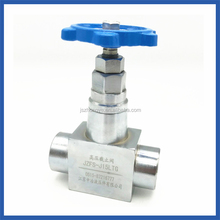 JZFS-J15LTG Angle Ball Gas Chemical Resistant Oil And Gas Ball Valve