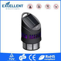 2016 Modern rechargeable mosquito killer lamp solar insect light trap