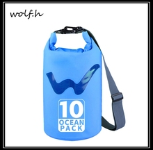 custom logo PVC Tarpaulin backpack bag waterproof