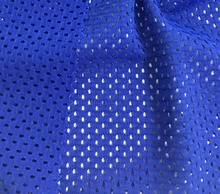 Knitted Textile for sportswear tshirt swimwear garment cloth spandex sports mesh polyester net lace fabric dubai