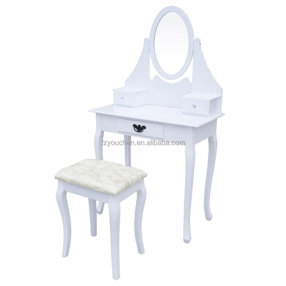 bedroom furniture vanity white simple dressing table designs