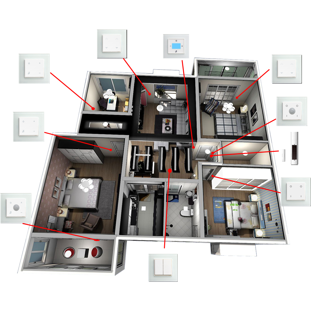 enocean intellgent switch system in home automation wifi buy home automation wifi enocean home