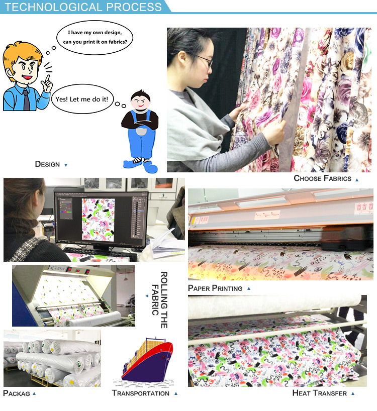 Tear-Resistant super soft jacquard printed fabric for making dresses