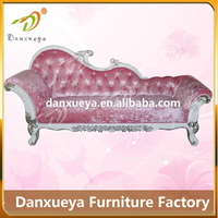 indoor furniture 2 people elegant french provincial chaise lounge
