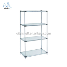 NSF & ISO stainless steel solid shelving
