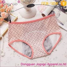 High Quality Waterproof Period Safety Underwear Seamless Young Girls Physiological Sanitary Panties