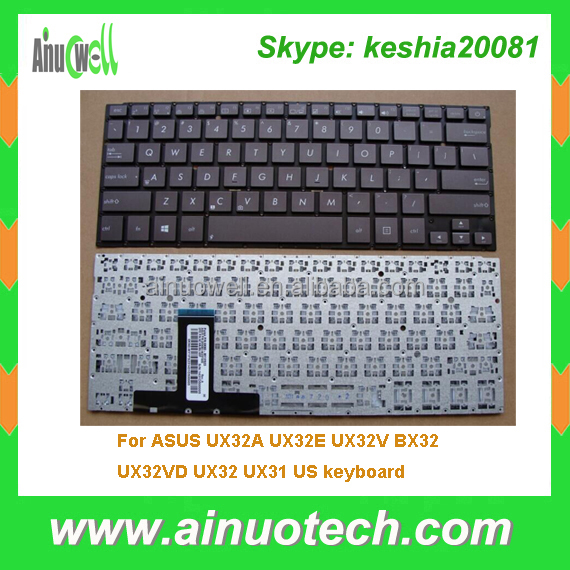 Replacement parts For ASUS laptop keyboard UX32A UX32E UX32V BX32 UX32VD UX32 UX31 US keyboard