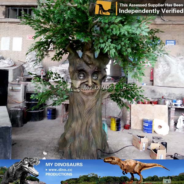 MY Dino-C084 Realistic talking trees for indoor or outdoor parks