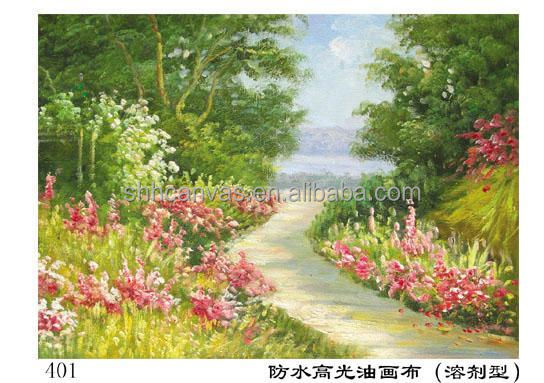 380g oil painting canvas