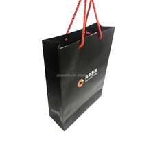 custom logo printing luxury foldable paper gift bags shopping bags