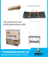 Lower Price Aluminum Pop Up Promotion Table for Sample Demo