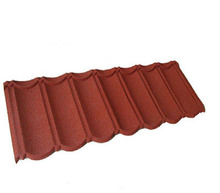Economic 30 Years Stone Chips Coated Metal Roof Covering Decorative Corrugated Roof