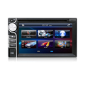 Cheap 2Din Universal Car DVD Player with Remote Control Bluetooth made in China