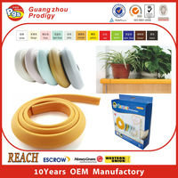 Plastic rubber edge protector, furniture bumper