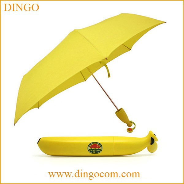Honsen cute sun umbrella mini folding sun umbrella light
