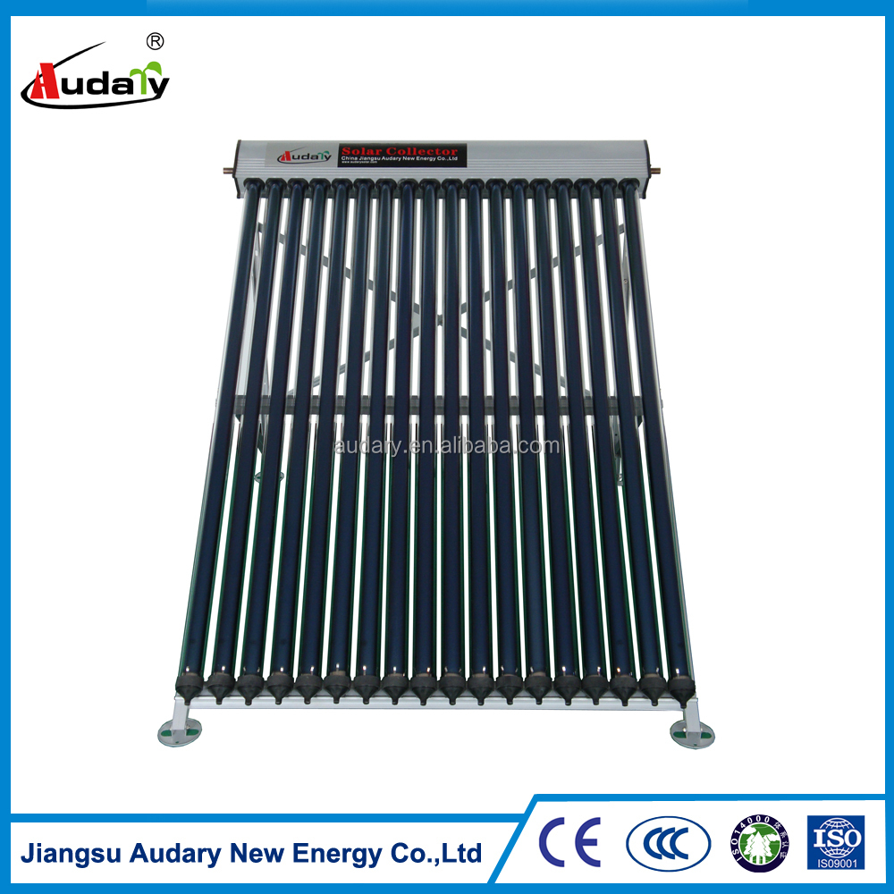 heat-pipe solar collector for flat/ pitched Rooftop