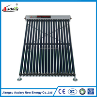 Heat Pipe Solar Collector For Flat