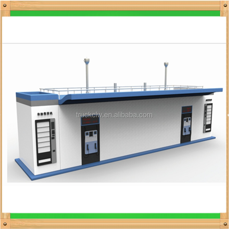 mobile refuel diesel station Containerised skid oil station container mobile filling petrol station
