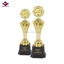 Cheap Metal oscar trophy with gift souvenir / golden plating trophy