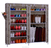 Custom made rack/ canvas good display shoe rack/ adjustable double shoe rack