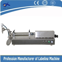 Semi-automatic Disc-like bleach filling machine
