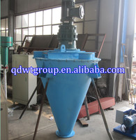 vertical double screw mixer with heating