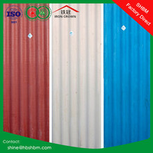 high strength MGO fireproof insulated roofing sheet better than copper colored metal roof