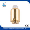2.5V XENON OPHTHALMOSCOPE LAMP with GOLD PLATED 0.64a X-01.88.106 heine bulb