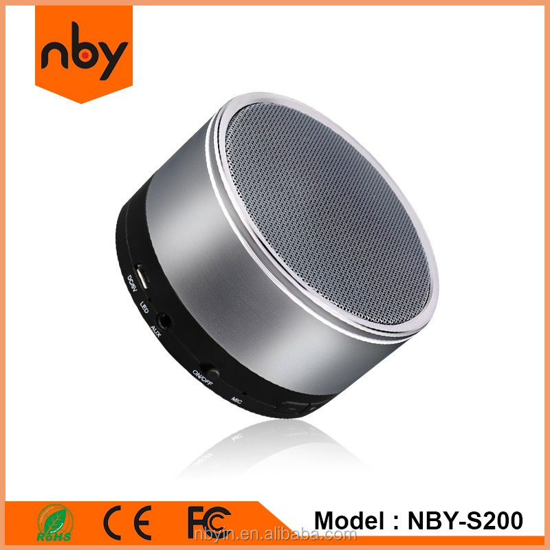 Wholesale High End Music Portable Wireless Small Bluetooth Audio Speaker With Built-in Mic FM Radio