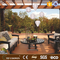 china wood plastic composite decking laminated flooring