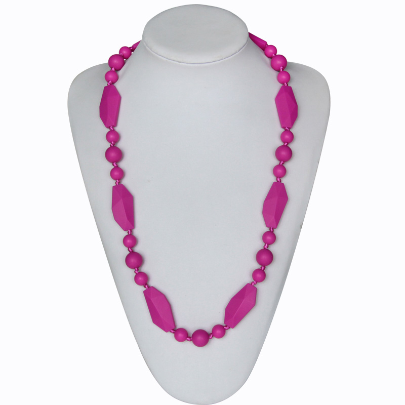 fashion jewelry citi trends jewelry baby silicone teething necklace