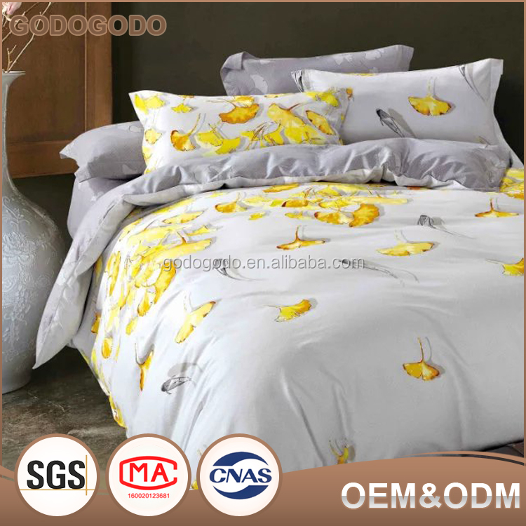 Wholesale Textile High Quality Classic Design Eco-Friendly Autumn And Winter Wedding Luxury Silk Bedding Set