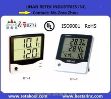 TPM-2000 Digital Temperature Sensor LCD Display Meter Digital Panel Thermometer & Hygrometer Hot for Air Conditioner