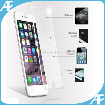 special offer 0.33MM 2.5D Tempered Glass Screen Protector for Iphone 6plus -front/back