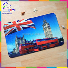 UK flag special hot-sale plastic floor mat injection mould china