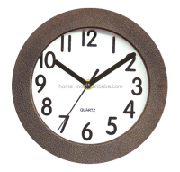 interior decoration large round metal wall clock antique clock (IH-6110)