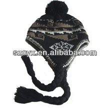 make you cute and lovely plush animal head hat