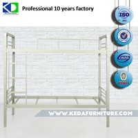 Commercial Metal Dubai Bunk Bed With Wooden Base For Gym