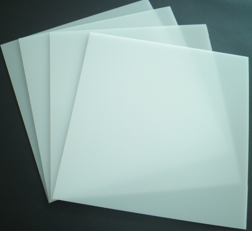 Round and square pmma acrylic LED light diffuser sheets