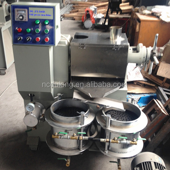 Most advanced Vacuum filter type peanut oil press machine