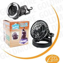 Super Brightness tent led lights fan, led light with fan, delux led camping light