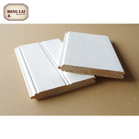 Custom Waterproof First Grade Wood Rings Pallet white gesso primed finger Ring Joint Timber Board