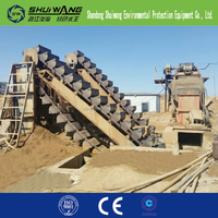 Shuiwang best selling Sand Washing Machine/beach sand cleaning machines/screw sand washing machine for sale