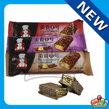 Mico chocolate coated wafer biscuits