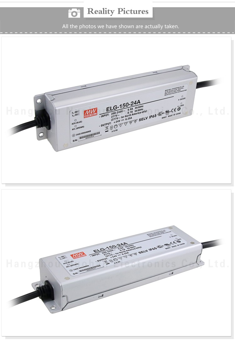 Mean well led driver 150w 24v ELG-150-24A 150w 24v driver